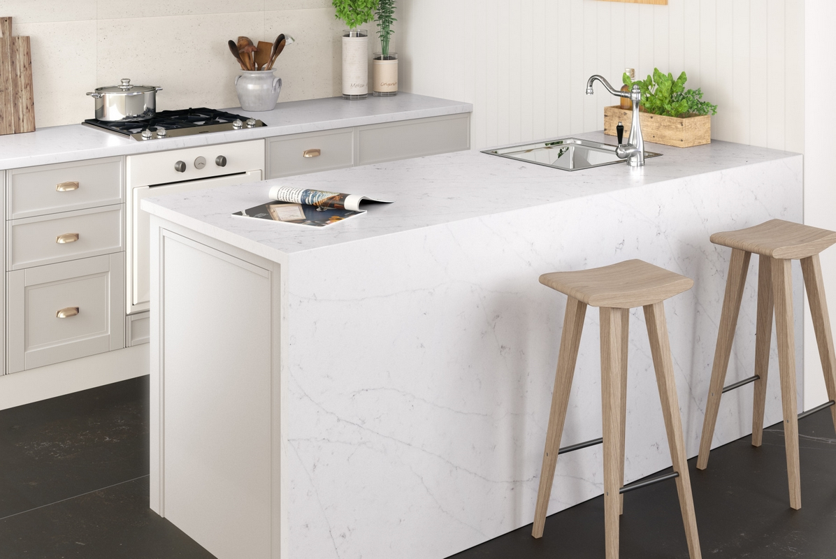 Silestone Eternal Statuario kök