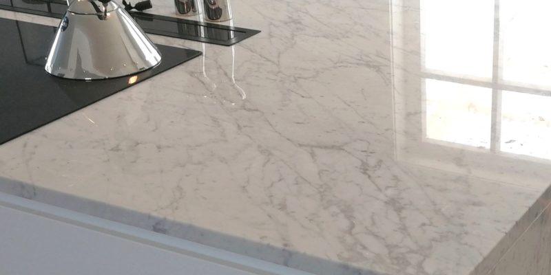 Keittiötasot Carrara-marmorista